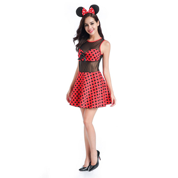 Sexy adulto micky mouse vestire costumi abiti per adulti fancy dress