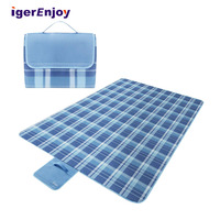 anti sand washable soft fleece waterproof picnic outdoor camping mat