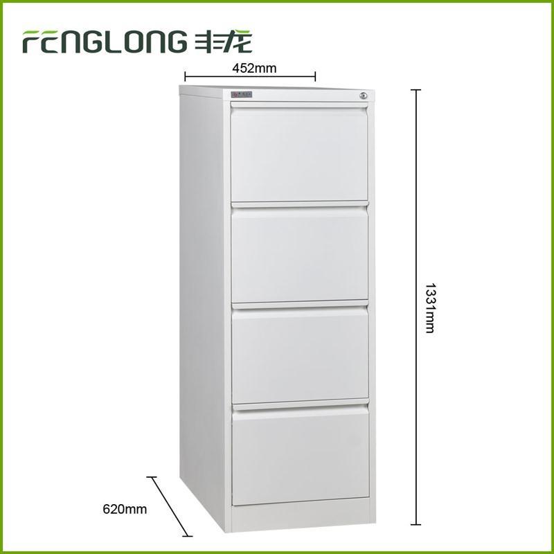 Commerical Office General Use Metal Godrej 4 Drawer Steel Filing Cabinet  Specification