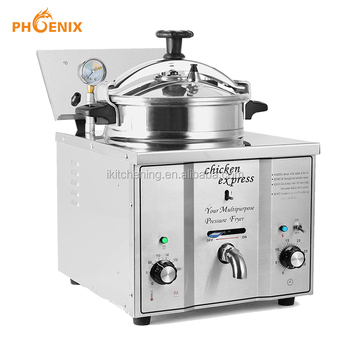 Factory Price Commercial Chicken Pressure Fryer Countertop Pressure Fryer Chicken Express Mdxz-16