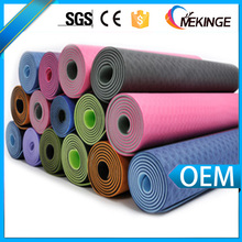 China manufacture custom anti slip yoga mat
