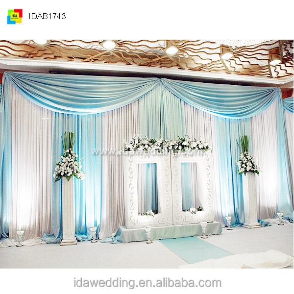 Cheap Wedding Backdrops Ready Made Curtains Drapes, Cheap Wedding ...