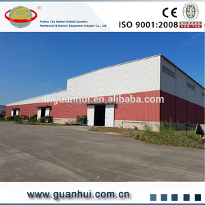 Security sandwich wall panel green building prefabricated workshop