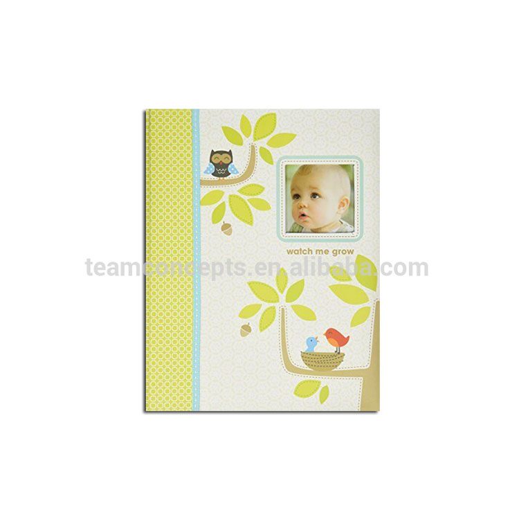 Eco-Friendly Baby New Born Souvenir First Year Memory Baby Record Book With Box