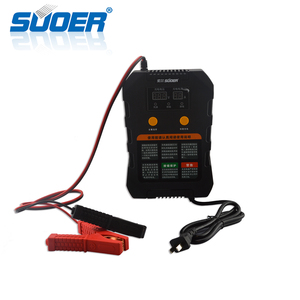 Suoer Portable 12V 24V 6.9A Smart Automatic Solar Battery Charger for Car