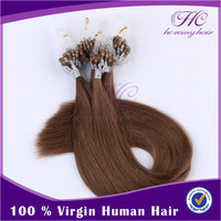 Chinese Imports Wholesale Easy Wear 100% Malaysian Loop Ring Hair Extension