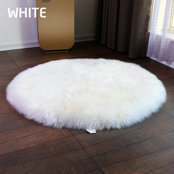 Natural Style Man Made Merino Fur Sheepskin Rugs Carpets