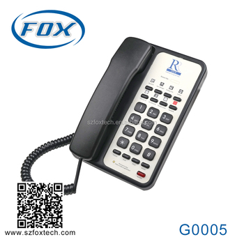 FOX classical analog phone for hotels
