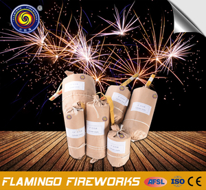 Nightclub display shells multi color for new year christmas party fireworks for sale