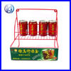 Iron Wire Table Top Beverage Can Retail Store Drinks Display Rack HS-X7