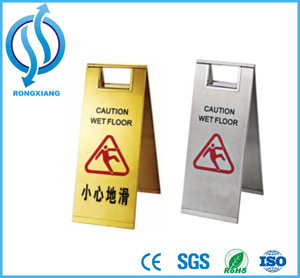 Slipping Hazard Floor Stand Signs 610*300*300MM