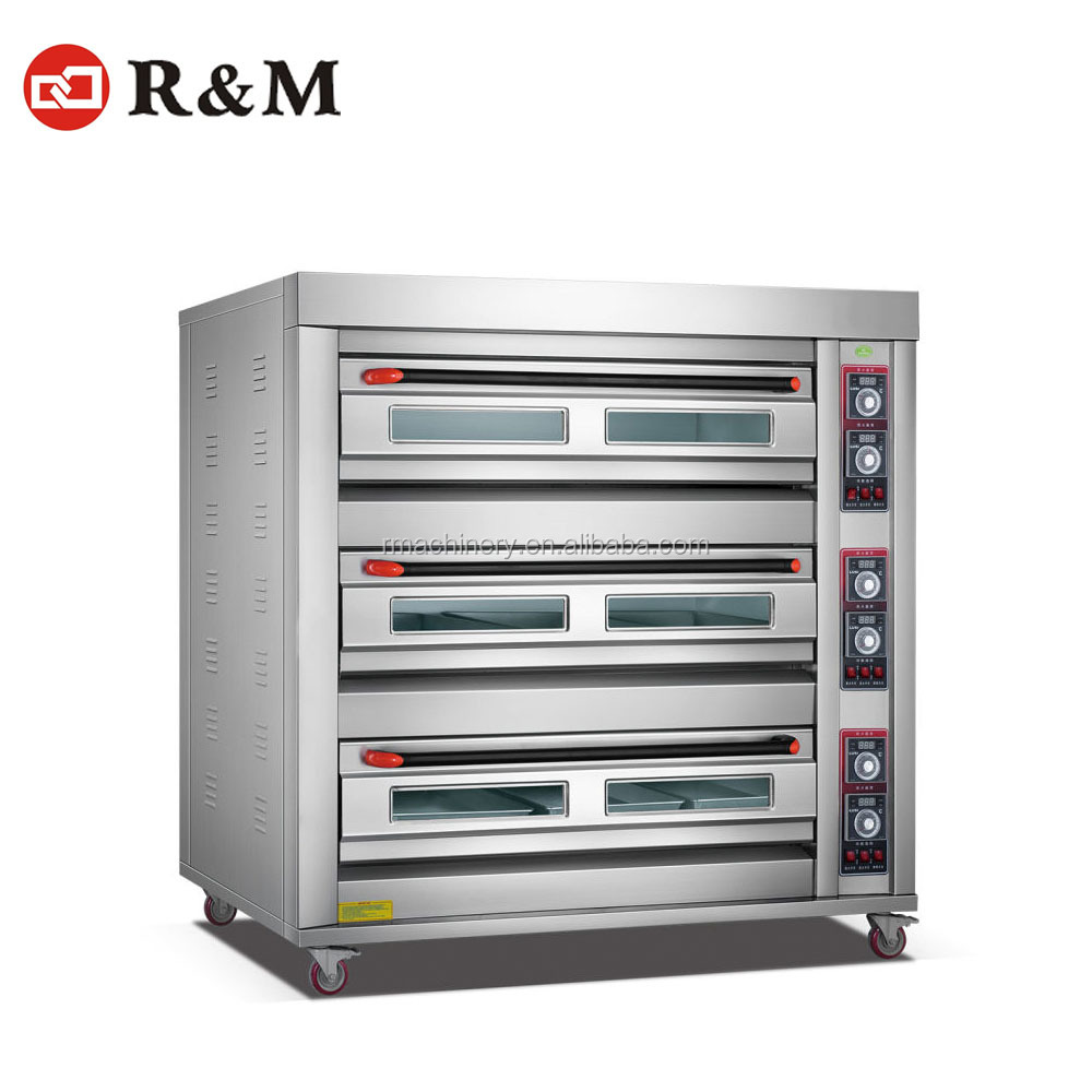 Factory Supplier Electric Bakery Machinery High Level Food And Beverage baking pizza oven