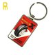 Custom metal blank key fobs / key chain with logo back