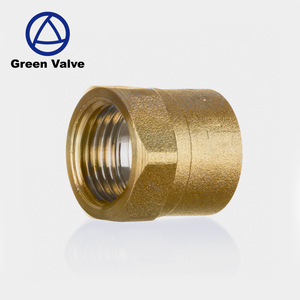 Green- Good Price cw 617n 1/2 inch F thread Brass socket for solder fittings