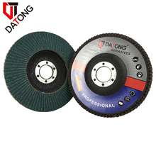 Datong 125mm Abrasive Polishing Tools with Zirconia Cloth