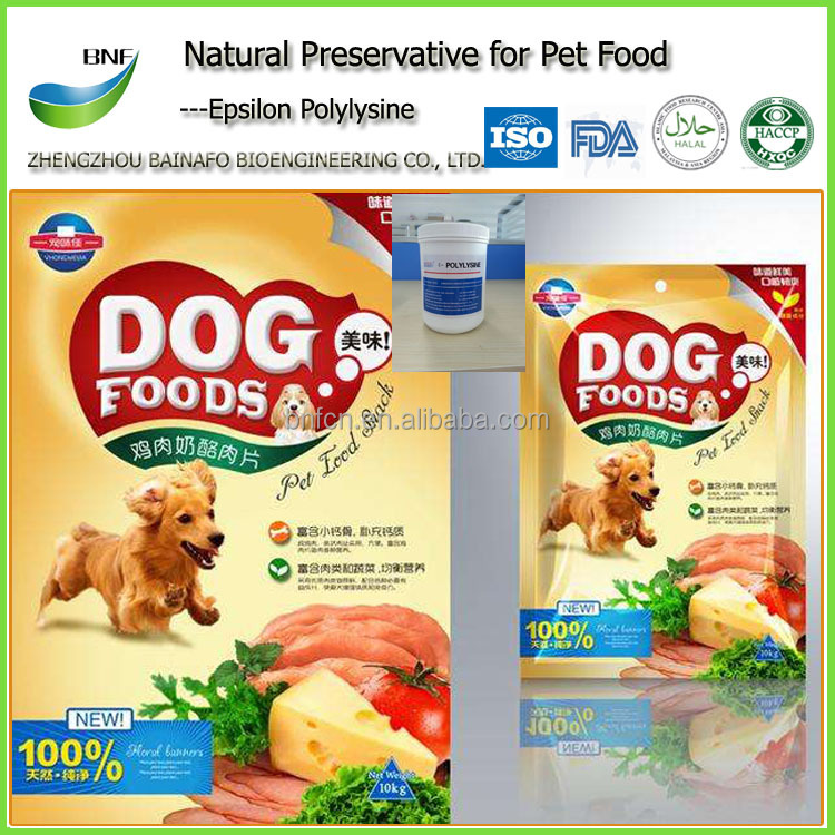 Natural Preservative---Epsilon Polylysine for Pet <strong>Food</strong>