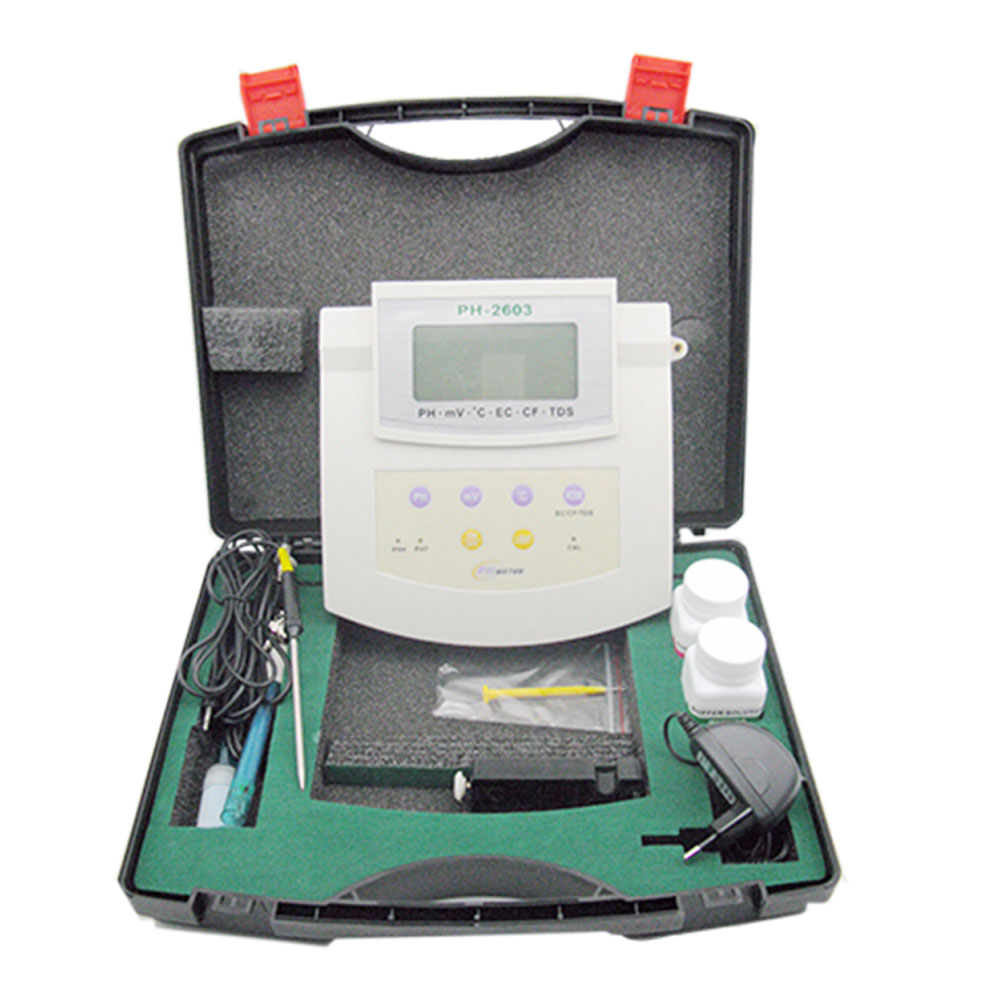 6 In 1 Water Quality Tester Measuring Instrument Sensor Electrode Probe 3 Lcd Ph <strong>Meter</strong> Ec Cf Tds Orp Temp Digital Ppm <strong>Meter</strong>