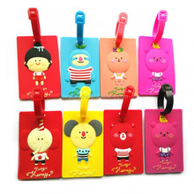 Best Price For Soft PVC Cool Cheap Bulk Luggage Tags