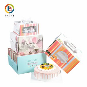 Different Size Cake Packaging Gift Box