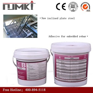 NJMKT products Modified Epoxy Resin structure bonded steel bar adhesive for concrete repair with CE certificate
