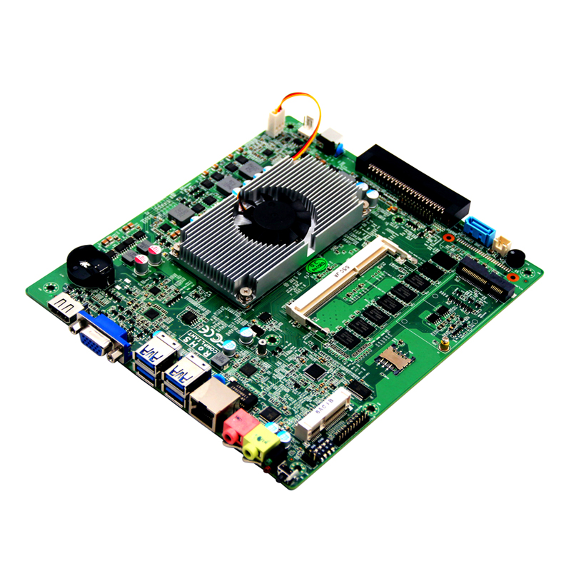 TOP80B Industrie-Mini-PC-Motherboard mit RS232-Thin-Client / x86-GPU