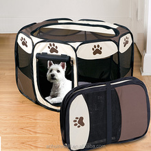 New Foldable Pet Playpen 8 Panel Exercise Puppy Dog Kennel Cage Tent