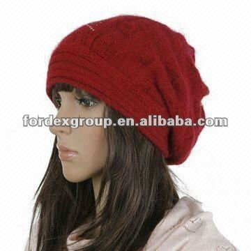 Knitted Hat, Suitable for Winter, OEM/ODM Orders are Welcome