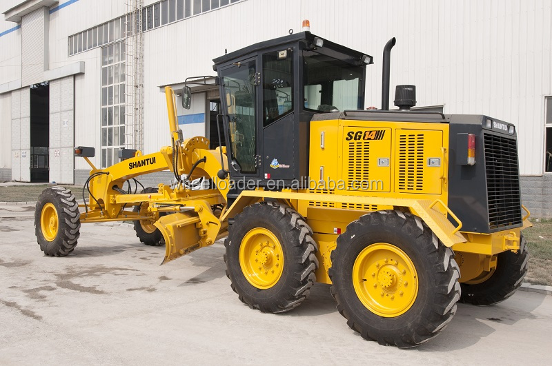 Shantui 11.6t 112kw SG14 Motor Grader for sale