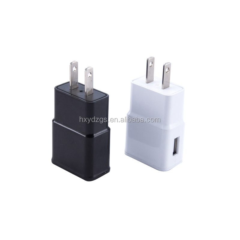 shenzhen supplier custom service 1 USB port European charger for Samsung