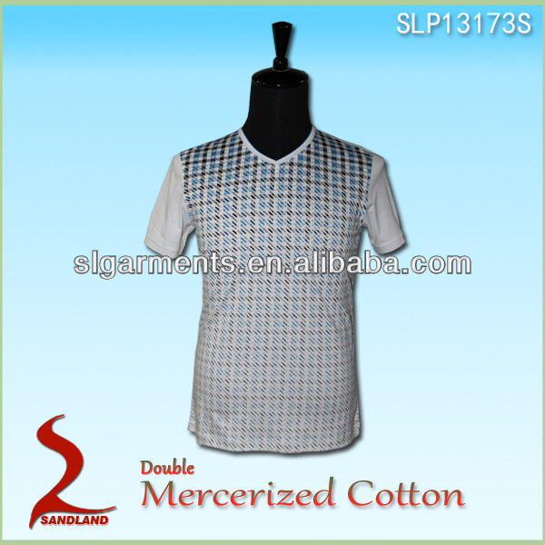 double merceried 100% combed cotton polo shirt