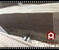 Canada Imported Marble Obama wooden grain marble slabs