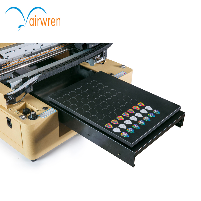 automatic digital uv printer a3 size uv guitar picks printing machine with multi-function