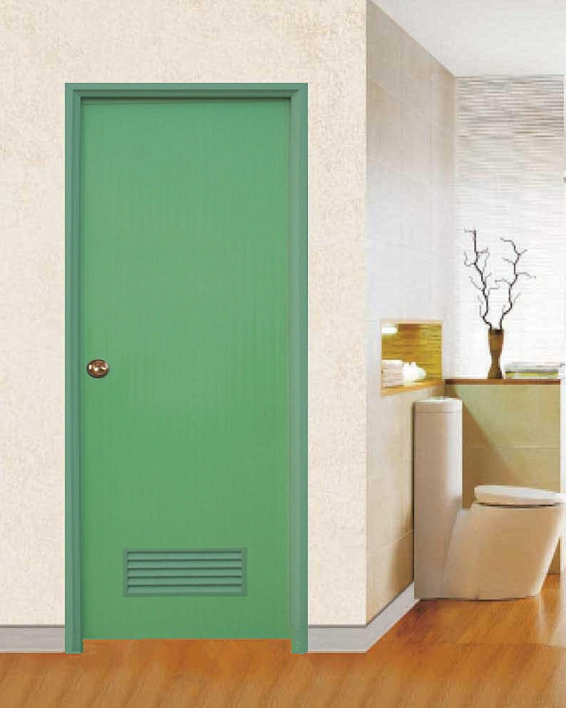 Bathroom Doors Prices wk-p002 white plain pvc door for interior prices plastic toilet