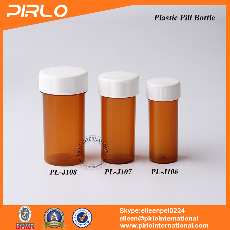 20ml 30ml 50ml Amber Color Wholesale Pills Packing Container Pharmaceutical Empty Plastic Medicine Tablets Bottle