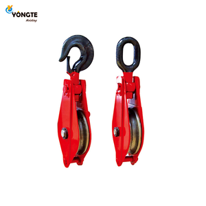 Generel heavy duty hook type snatch rope pulleys for sale
