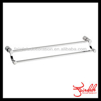 High quality chrome square porcelain towel bar