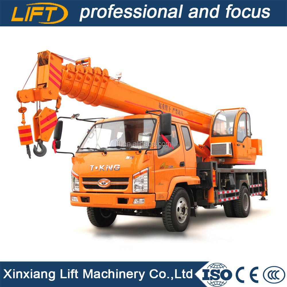 Popular in Korea small hydraulic truck crane