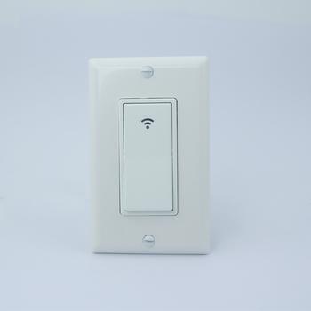 American Standard Wireless Wifi Controlled Wall Light Switch Supports Tuya  Iot Smart Home Automation - Buy Smart Wifi Light Switch,Wifi Light Switch