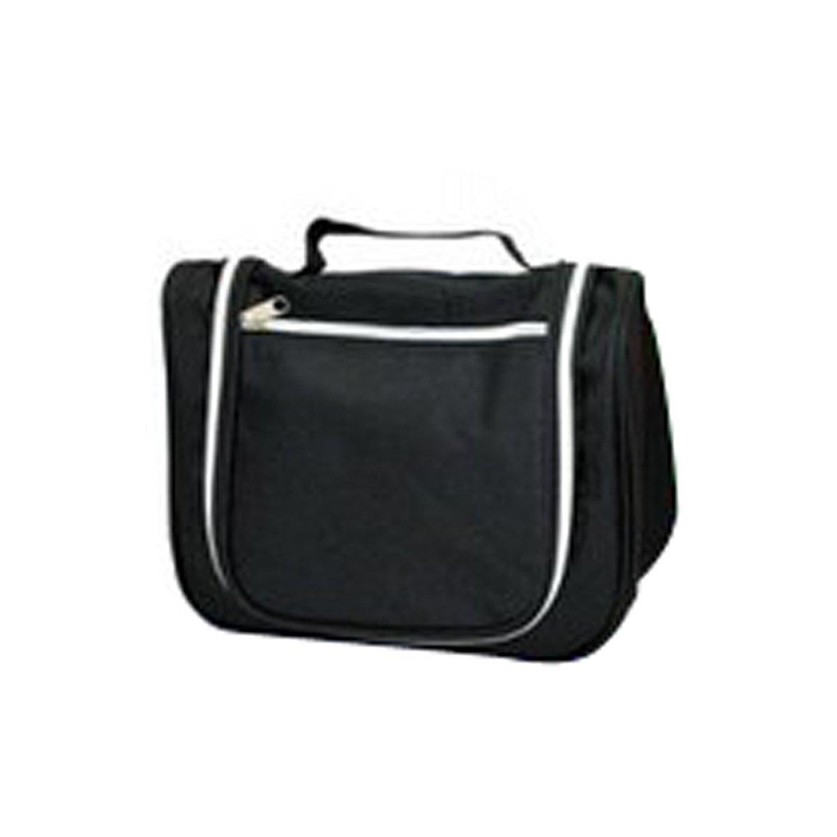 DEHANG Waterproof Nylon Ventilated Durable Portable Organiser Storage Cosmetic Big Bag With Handle - Black