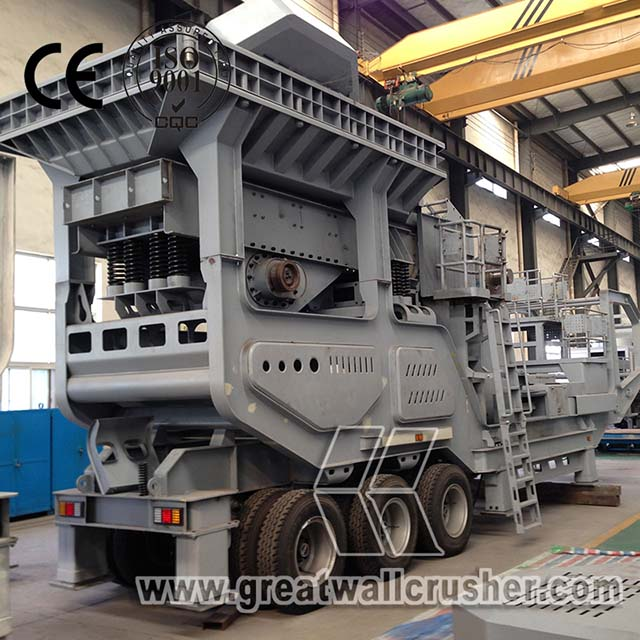 Top Supplier granite mobile jaw crusher plant price for sale Ontario Canada
