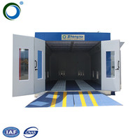 China factory automotive coating equipment spray paint booth bake oven/paint room car/cabins for painting cars