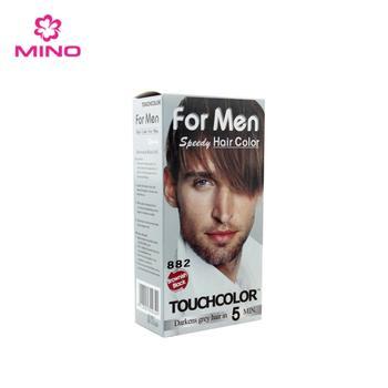 Private Label Hair Dye For Men Speedy Permanent Color Hair Cream