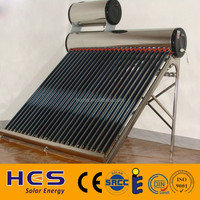 2017 HES New thermosiphon copper coil pre-heated solar water heater price