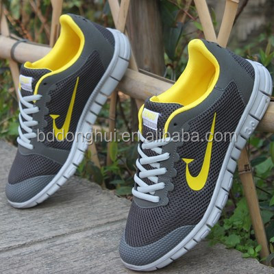 OEM cheap running shoes for men, men tracking athletic shoes,fashion men trainer shoes custom logo