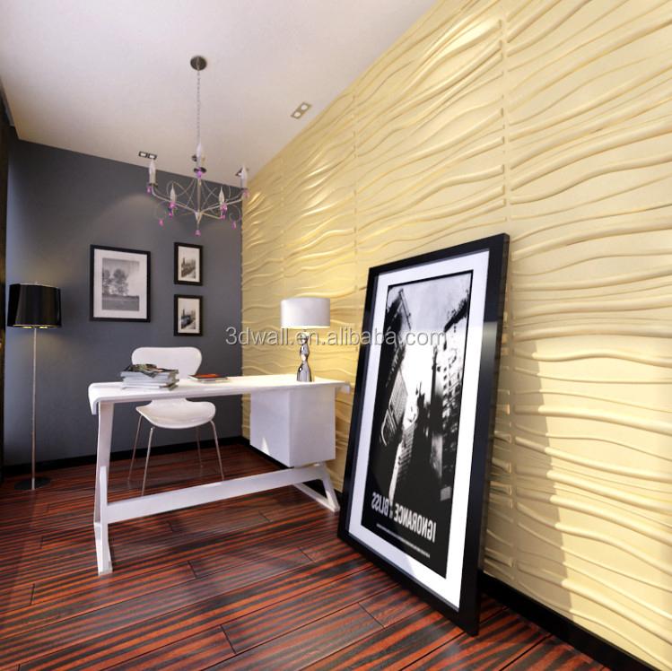 Interior decora o da parede 3d painel de parede de gesso - Muros decorativos para interiores ...