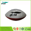 High quality machine-sewn pvc leather American football for sale