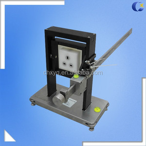 UL Plug IEC60065 Socket Torque Tester for Socket Outlet Torque Test
