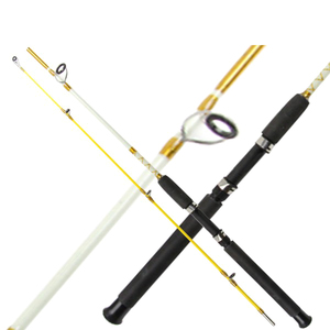 solid fishing rods High Quality Best Price Solid Glass Fiber Spinning Fishing Rod