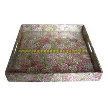 Melayani tray dipernis vietnam, handmade vernis, produk <span class=keywords><strong>lacquer</strong></span>.