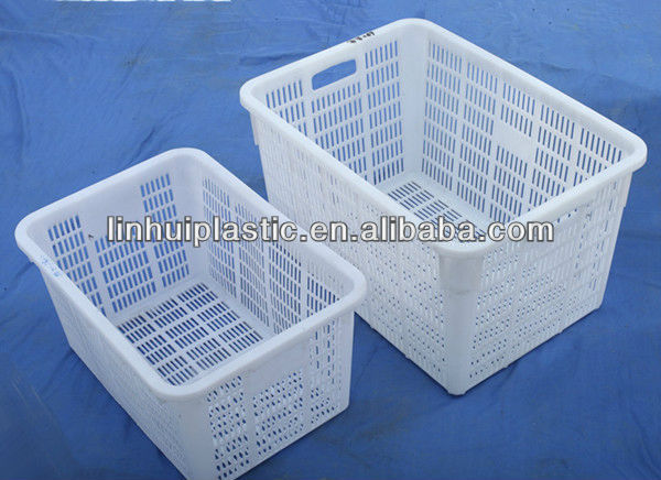 Used Ventilated Nest Stack Plastic Crate